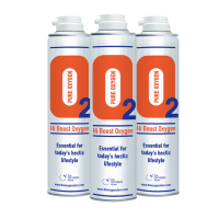 3 X O2 10 Litre Replacement Oxygen Cans